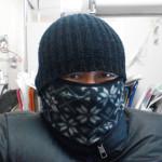 自転車通勤の防寒。。